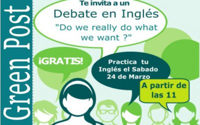 Debate Meetup: Practica Inglés en Alcalá- TED «Do we really do what we want?»