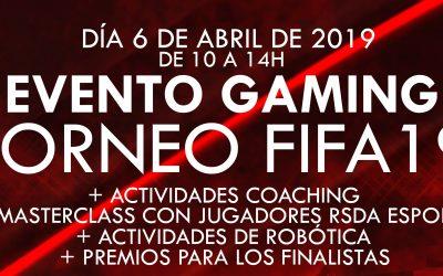 Evento Gaming  La Garena TORNEO FIFA19